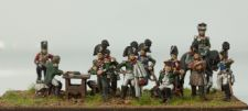 Russian command at Borodino