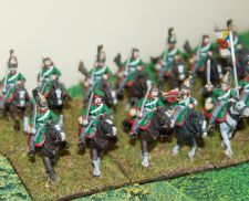 Russian dragoons